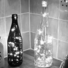 USB Sạc Nút Chai Shape Chai Rượu Dây Ánh Sáng Chuỗi Đèn LED Christmas Party  Cưới Trang Trí Trắng Đa Màu usb led dây đèn đèn led giáng sinhánh sáng  chuỗi - AliExpress