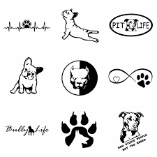 Super Deal 193c 10 Styles Funny Dog Car Stickers And Decals Dogs Animals Vinyl Auto Sticker To Cover Scratches Decor Cars Accessories Cicig Co