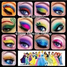 tbt to my disney princess makeup looks