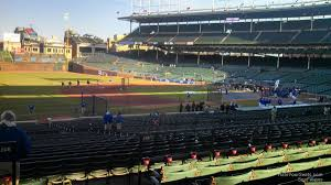 chicago cubs wrigley field seating