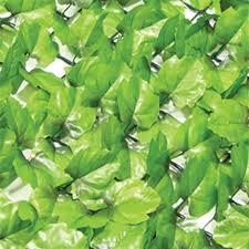 Buy Garden Artificial Ivy Leaf Hedge 1m X 3m At Home Bargains