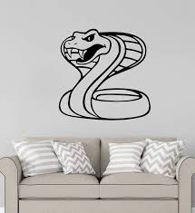 Amazon Com Advanced Store Wall Vinyl Decal Snake Wall Sticker Cobra Truck Window Car Removable Interior Room Wall Stickers Murals Mk8390 Home Kitchen