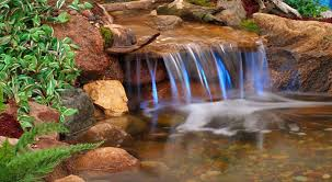 diy pond waterfall outdoortheme