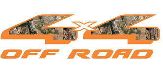 4x4 Off Road Orange Truck Bed Body Camouflage Vinyl Decal Sticker 14 5 X 4 Vinyl Decal Stickers 4x4 Off Road Truck Bed