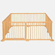 Indoor Playpen Baby Wooden Large Safety Buy Online In French Guiana At Desertcart