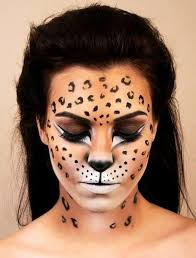 cheetah print eye makeup cat eye makeup