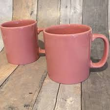 pink coffee mugs made in england mint