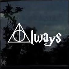 Harry Potter Always Window Decal Sticker Custom Sticker Shop