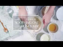 one minute face mask soothing oatmeal