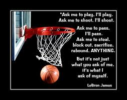 Basketball Motivation Poster Son Confidence Wall Art Daughter Inspiration Wall Decor Featuring Lebron Lebron James Quotes Lebron James Basketball Motivation
