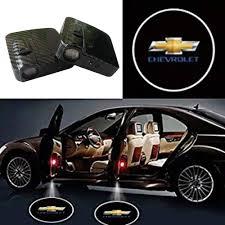 Amazon Com Soondar Car Door Lights For Chevrolet Upgraded Universal Sensor Car Door Led Logo Projector Light 2pcs Automotive