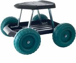cart wheels seat storage organizer