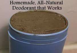 all natural homemade deodorant recipe