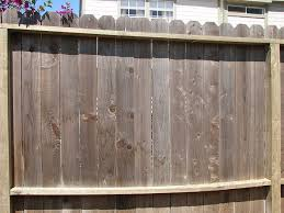 Landscape Home Tutorials How To Clean And Renew Your Redwood Or Cedar Fence Or Deck
