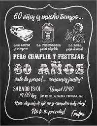 Vintage Retro 60 Anos Invitaciones Personalizadas Las Creamos A