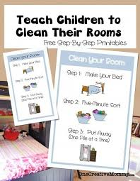 How To Teach Children To Clean Their Bedroom Onecreativemommy Com Teaching Kids Chores For Kids How To Teach Kids