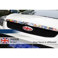 Car Decal Sticker Reflective Ford Focus National Flag Britain British Cars Boats Vehicles Parts Webstore Online Auction