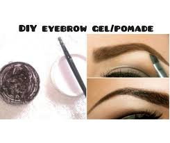 diy eyebrow gel for fuller eyebrows v