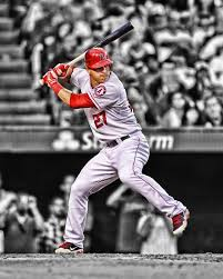 Mike Trout Mike Trout Angels Baseball Baseball Players