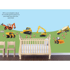 Large Truck Wall Decals For Boys Nursery Or Bedroom