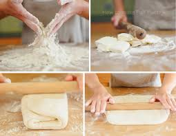 how to make puff pastry at home from