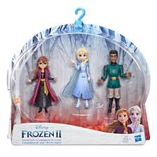 disney frozen 2 small doll playset with