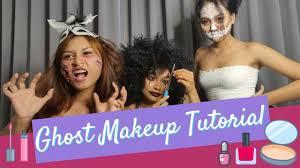ghost makeup tutorial vlog esther