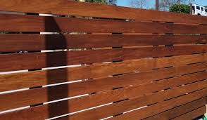 The 2 Minute Gardener: Photo - Ipe Wood Fence