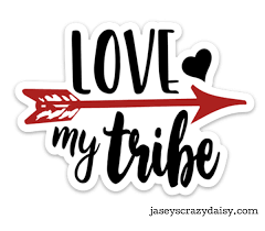 Love My Tribe Decal Jasey S Crazy Daisy