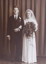 The Wedding of Algie and Ivy Rogers of Pymoor, 1939. | Weddings | Pymoor