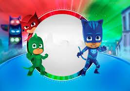 Super Heroes En Pijamas Invitaciones Para Imprimir Gratis Ideas Y Material Gratis Para Fiestas Y Celebraciones Oh My Fiesta