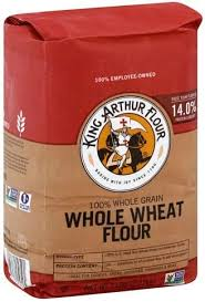 king arthur flour whole wheat 100
