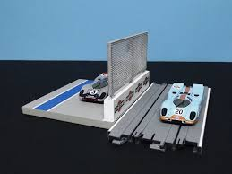 1 64 Ho Slot Car Pit Lane Wall Fence Kit By Fch Full Circle Hobbies