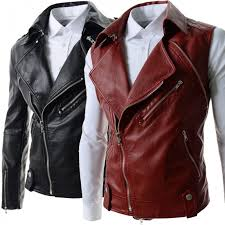 hugme fashion genuine leather jacket