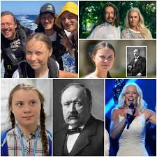 """The Cabal Theme in The Blacklist - Influence of Secret Societies - Is Greta  Thunberg from a Swedish Masonic family? - Greta's great-grandfather Svante  Arrhenius is the """"inventor"""" of Climate Change -"""