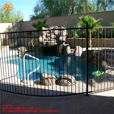 Easily Assembly Security Protection Portable Galvanized Steel Pool Fence Panels Buy High Quality Pool Security Fence Used Pvc Pool Fence Factory Price Temporary Swimming Pool Fence Portable Pool Fence Product On Alibaba Com