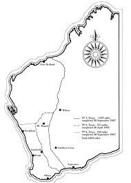 Rabbit Proof Fence Map Of Western Australia Western Australia Australia Map Map