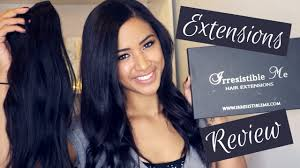 Irresistible Me Hair Extensions HONEST ...