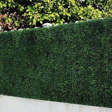 Uland Artificial Boxwood Greenery Hedges Panels Decorative Privacy Fence Screening Uv Proof 100 Fresh Pe 20 X20 Pc Pack Of 12 Green Jade Walmart Co Artificial Hedges Artificial Plants Outdoor Artificial Boxwood
