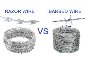 Razor Wire Vs Barbed Wire The Most Detailed Comparison Dongfu Wire Mesh