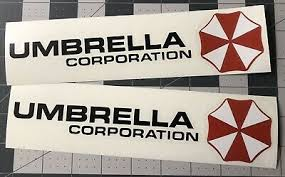 2x Umbrella Corporation Hive Resident Evil Vinyl Sticker Car Truck Window Decal 4 99 Picclick