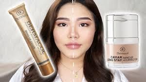 make up cover vs caviar foundation