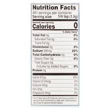 great value iodized salt 26 oz