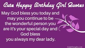 best happy birthday messages for girls happy birthday girl
