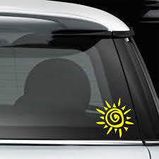 For Tribal Sun Sunshine Car Window Decal Bumper Sticker Tattoo Star Native Hieroglyph Car Stickers Car Stickers Aliexpress