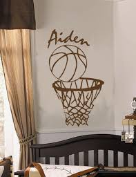 Personalized Name Basketball Nba Sports Vinyl Wall Decal Boys Room Wall Art For Sale Online