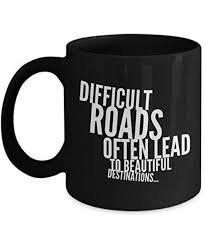 inspirational quote coffee mug oz black ceramic inspiring