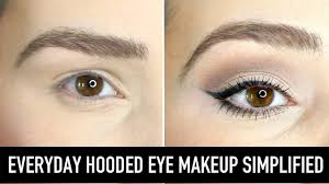 eye makeup for hooded eyes how to
