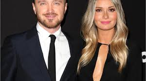 Aaron Paul and Lauren Parsekian Are Now Expecting Their First Baby - YouTube