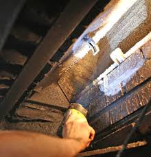 remove soot from fireplace tips for